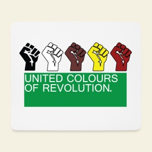 United Coulours of Revolution - Tapis de souris (format paysage)