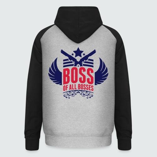 Boss of all Bosses - Unisex Baseball Hoodie