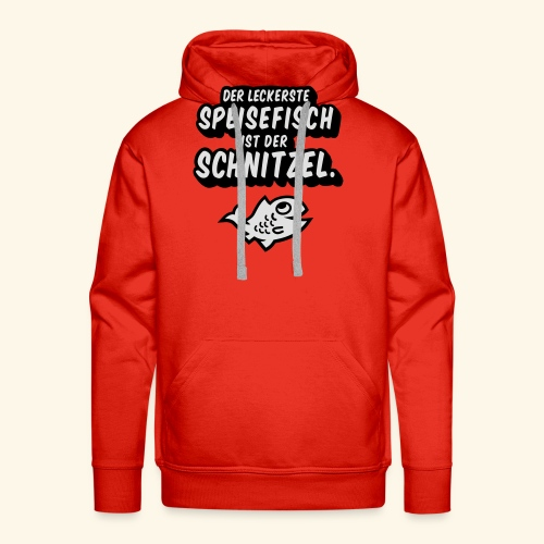 spassprediger.de presents: Lecker Fisch - das Original - Männer Premium Hoodie
