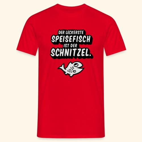 spassprediger.de presents: Lecker Fisch - das Original - Männer T-Shirt
