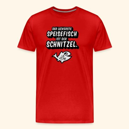 spassprediger.de presents: Lecker Fisch - das Original - Männer Premium T-Shirt