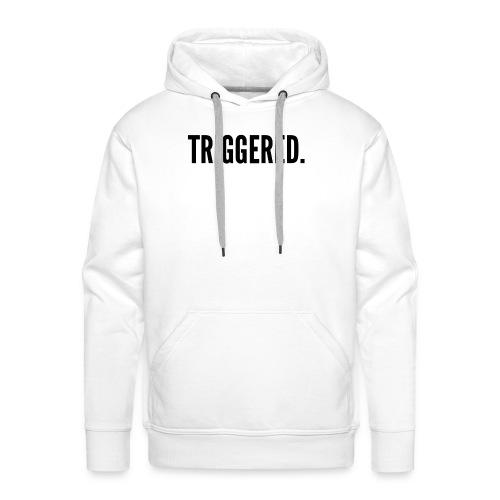 Triggered Tee Men's - Mannen Premium hoodie
