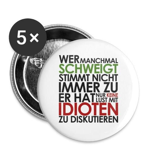 Einstein Zitat - Buttons klein 25 mm