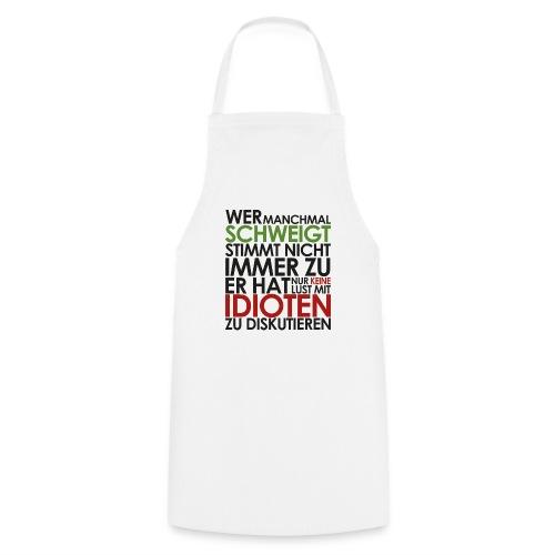 Einstein Zitat - Kochschürze