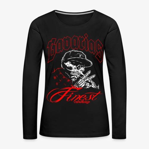 Chicano Style T-Shirts - Frauen Premium Langarmshirt