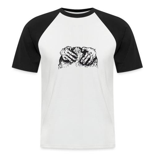 Kletterhände - Männer Baseball-T-Shirt