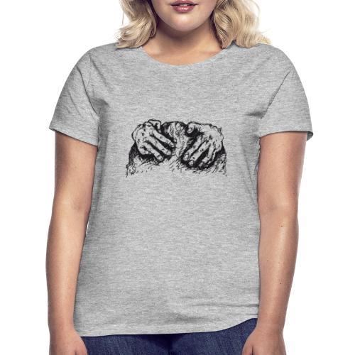 Kletterhände - Frauen T-Shirt