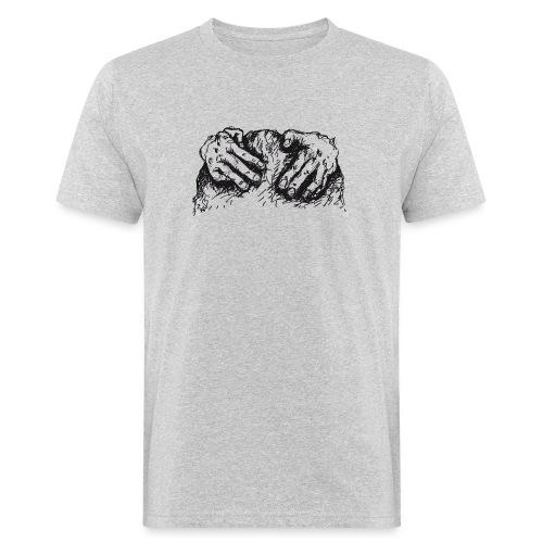 Kletterhände - Männer Bio-T-Shirt