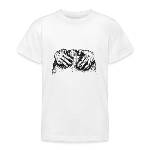 Kletterhände - Teenager T-Shirt