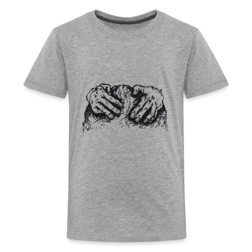 Kletterhände - Teenager Premium T-Shirt