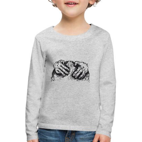 Kletterhände - Kinder Premium Langarmshirt