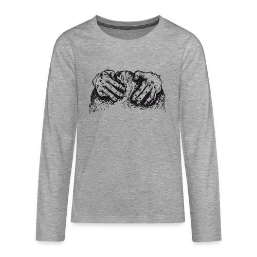 Kletterhände - Teenager Premium Langarmshirt