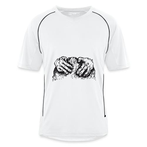 Kletterhände - Männer Fußball-Trikot