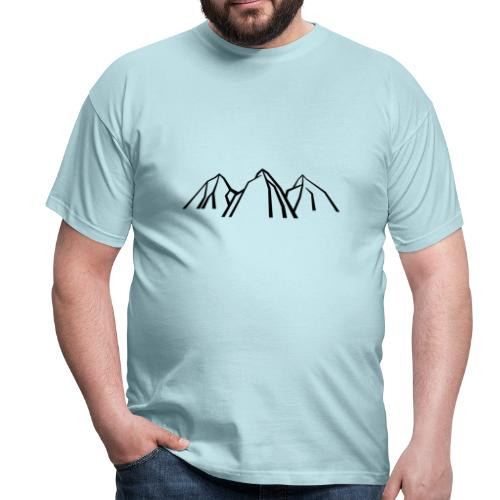 Gebirge - Männer T-Shirt