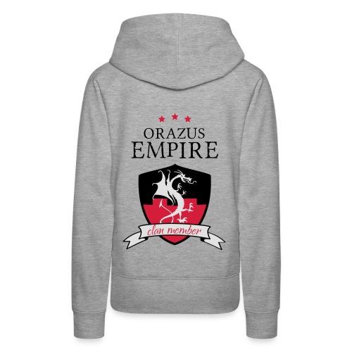 Clan member - Sweat-shirt à capuche Premium pour femmes