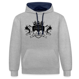 Clan member - Sweat-shirt contraste