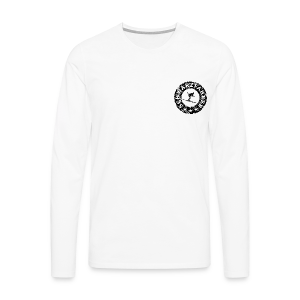 Schwarzfahrer Seal (Vintage/Black) S-5XL T-Shirt - Männer Premium Langarmshirt
