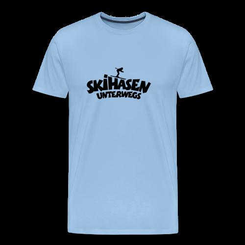 Skihasen unterwegs Funktionsshirt - Männer Premium T-Shirt