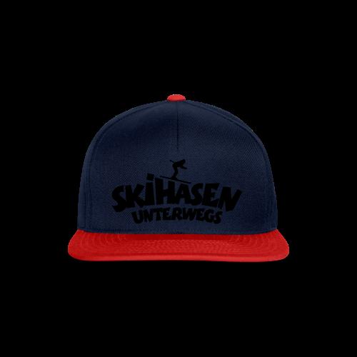 Skihasen unterwegs Funktionsshirt - Snapback Cap