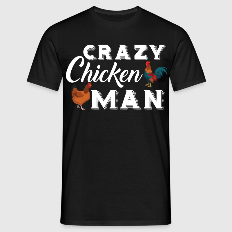 Crazy Chicken T-Shirts - Men's T-Shirt