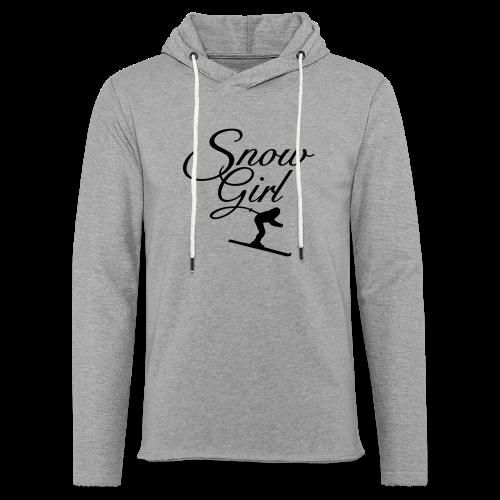 Snowgirl Classic Skier Gold Funktionsshirt - Leichtes Kapuzensweatshirt Unisex