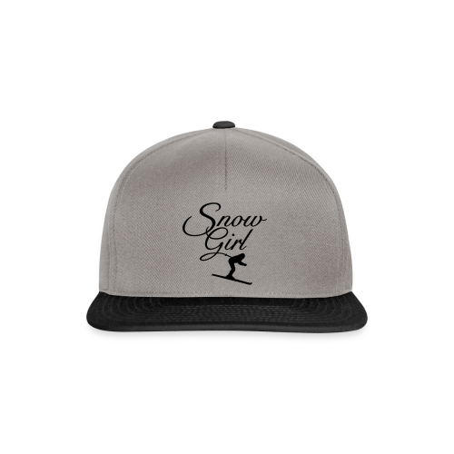 Snowgirl Classic Skier Gold Funktionsshirt - Snapback Cap
