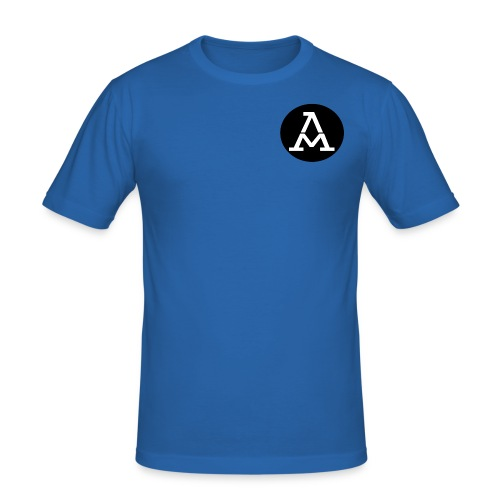 AM Tee shirt Homme col V - T-shirt près du corps Homme
