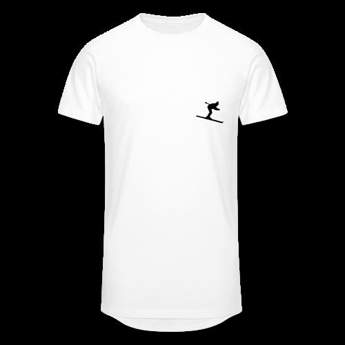 Skifahrer S-5XL T-Shirt - Männer Urban Longshirt