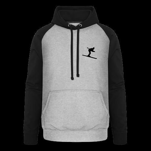 Skifahrer S-5XL T-Shirt - Unisex Baseball Hoodie