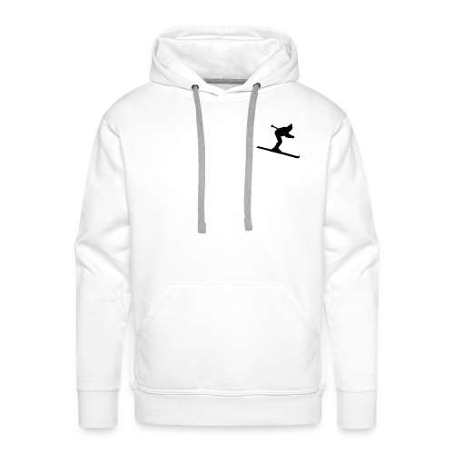 Skifahrer S-5XL T-Shirt - Männer Premium Hoodie