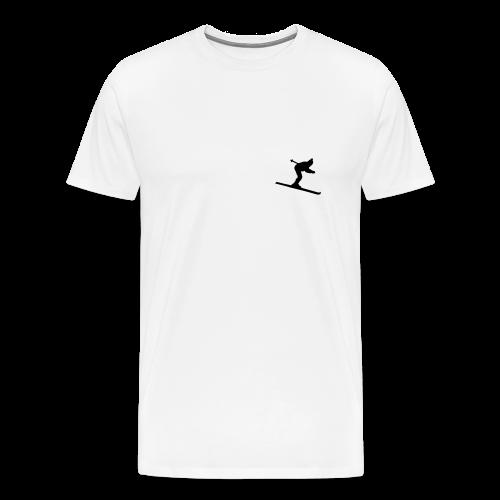 Skifahrer S-5XL T-Shirt - Männer Premium T-Shirt