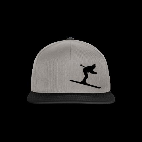 Skifahrer S-5XL T-Shirt - Snapback Cap