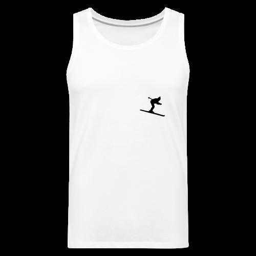 Skifahrer S-5XL T-Shirt - Männer Premium Tank Top