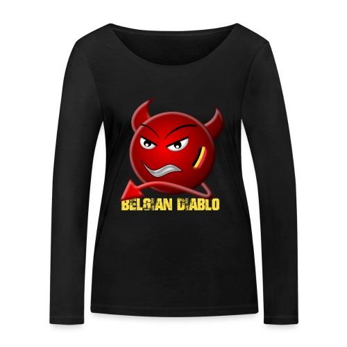 BELGIAN-DIABLO - T-shirt manches longues bio Stanley & Stella Femme