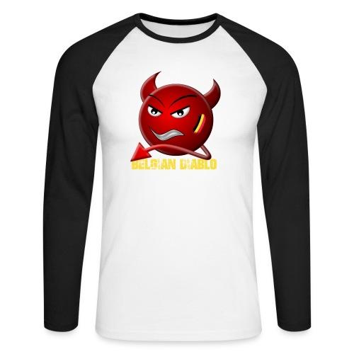 BELGIAN-DIABLO - T-shirt baseball manches longues Homme