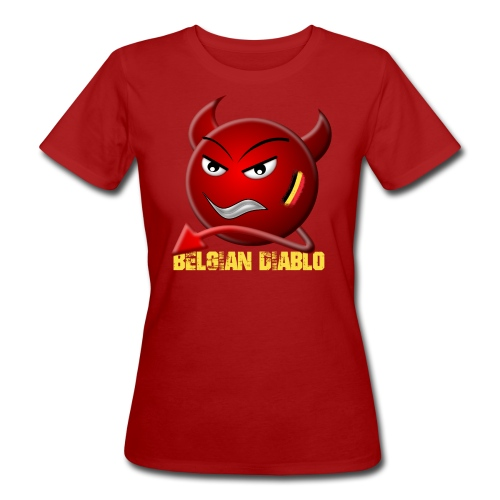 BELGIAN-DIABLO - T-shirt bio Femme