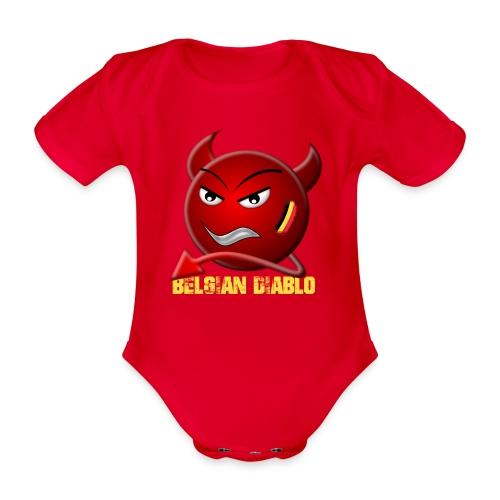 BELGIAN-DIABLO - Body bébé bio manches courtes
