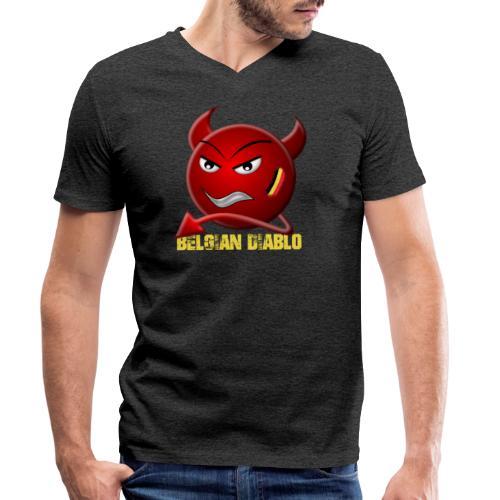 BELGIAN-DIABLO - T-shirt bio col V Stanley & Stella Homme