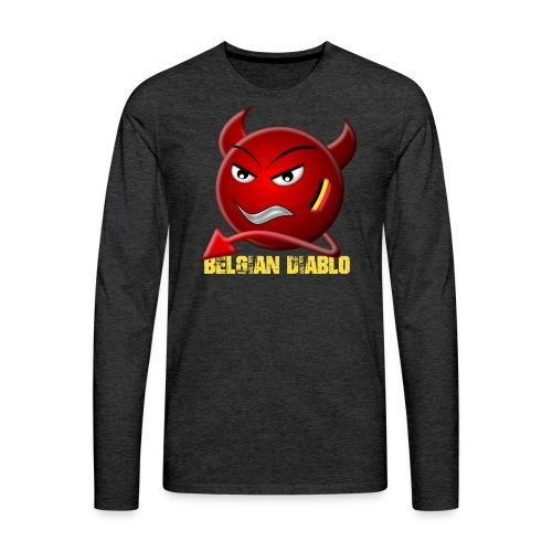 BELGIAN-DIABLO - T-shirt manches longues Premium Homme