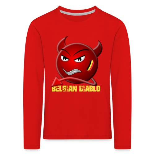 BELGIAN-DIABLO - T-shirt manches longues Premium Enfant