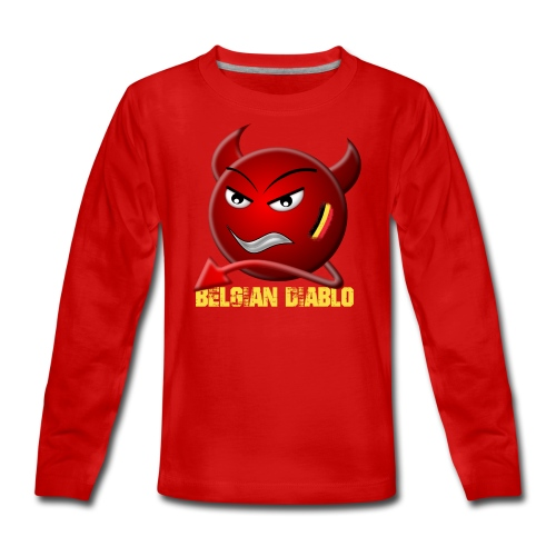 BELGIAN-DIABLO - T-shirt manches longues Premium Ado