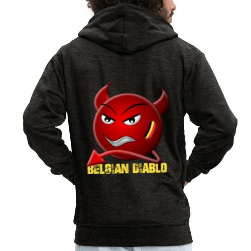 BELGIAN-DIABLO - Veste à capuche Premium Homme
