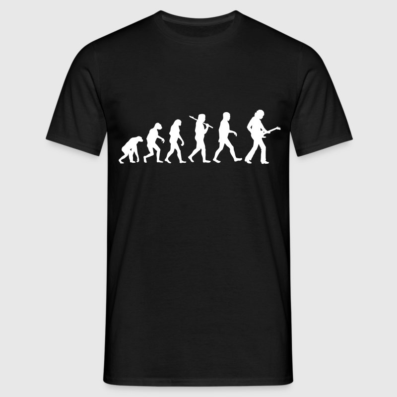 Evolution of Bass Guitar T-Shirts - Männer T-Shirt