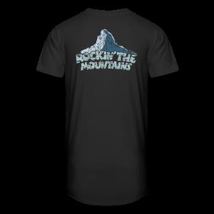Rockin' the Mountains (Vintage/Hell) S-5XL T-Shirt - Männer Urban Longshirt