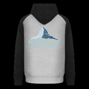 Rockin' the Mountains (Vintage/Hell) S-5XL T-Shirt - Unisex Baseball Hoodie