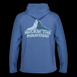 Rockin' the Mountains (Vintage/Hell) S-5XL T-Shirt - Leichtes Kapuzensweatshirt Unisex