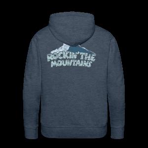 Rockin' the Mountains (Vintage/Hell) S-5XL T-Shirt - Männer Premium Hoodie