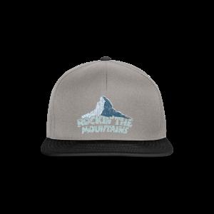 Rockin' the Mountains (Vintage/Hell) S-5XL T-Shirt - Snapback Cap