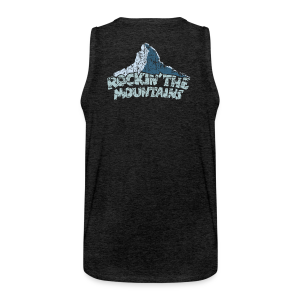 Rockin' the Mountains (Vintage/Hell) S-5XL T-Shirt - Männer Premium Tank Top