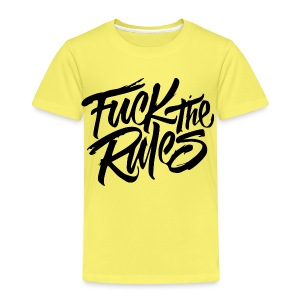 Fuck the rules Tee - Kinder Premium T-Shirt